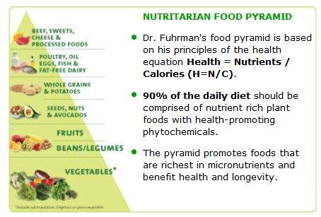 New Pyramid of food